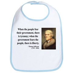 Thomas Jefferson 6 Bib