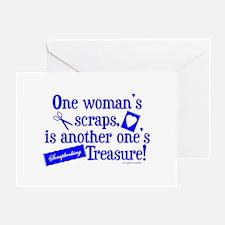 Scrapbooking Treasure Greeting Card