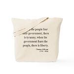 Thomas Jefferson 6 Tote Bag