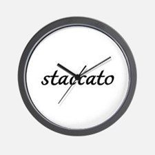 Staccato Music Wall Clock