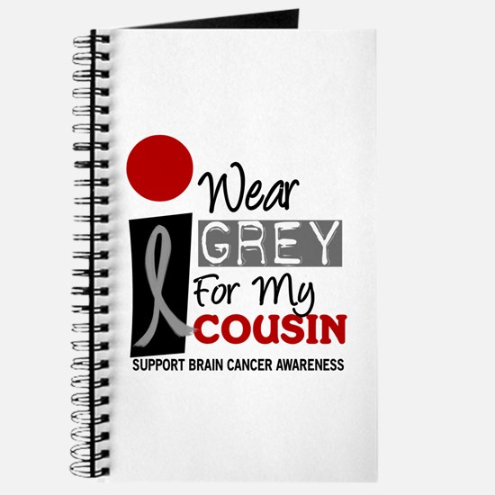 I Wear Grey For My Cousin 9 Journal
