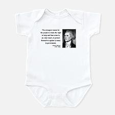 Thomas Jefferson 7 Infant Bodysuit