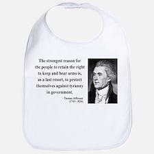 Thomas Jefferson 7 Bib