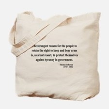 Thomas Jefferson 7 Tote Bag