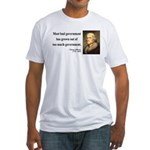 Thomas Jefferson 8 Fitted T-Shirt
