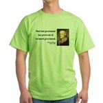 Thomas Jefferson 8 Green T-Shirt