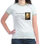 Thomas Jefferson 8 Jr. Ringer T-Shirt