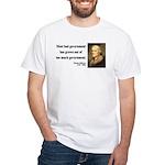 Thomas Jefferson 8 White T-Shirt