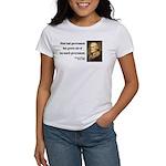 Thomas Jefferson 8 Women's T-Shirt