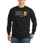 Thomas Jefferson 8 Long Sleeve Dark T-Shirt