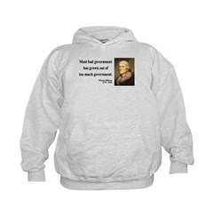 Thomas Jefferson 8 Hoodie