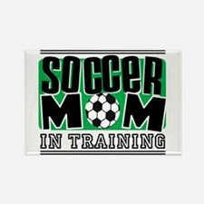Soccer Mom In Training Rectangle Magnet