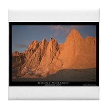 Mt. Whitney Tile Coaster