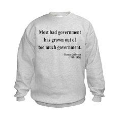 Thomas Jefferson 8 Sweatshirt