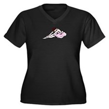 Ballerina Stretching Gifts an Women's Plus Size V-