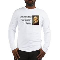 Thomas Jefferson 11 Long Sleeve T-Shirt