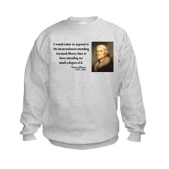 Thomas Jefferson 11 Sweatshirt