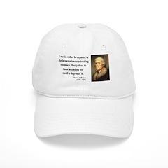 Thomas Jefferson 11 Baseball Cap