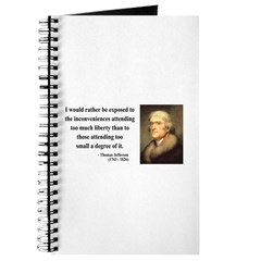 Thomas Jefferson 11 Journal