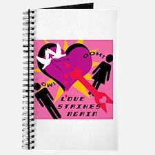 LOVE STRIKES AGAIN Journal