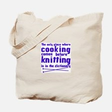 Cooking before Knitting? Tote Bag