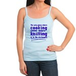 Cooking before Knitting? Jr. Spaghetti Tank