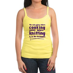 Cooking before Knitting? Jr.Spaghetti Strap