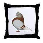 Domestic Flight Mealy Throw Pillow