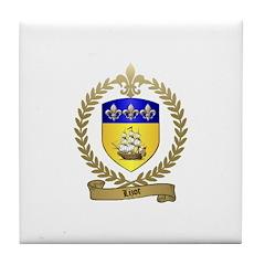 LIZOT Acadian Crest Tile Coaster