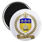 LIZOTTE Family Crest Magnet