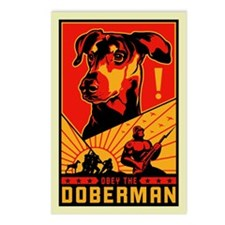 Obey the Doberman! Postcards (Package of 8)