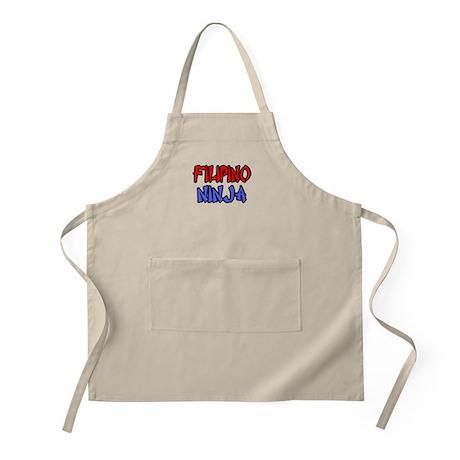 """Filipino Ninja"" BBQ Apron"