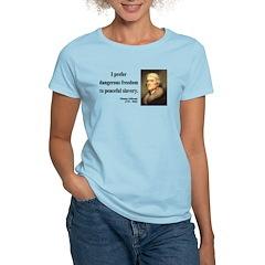 Thomas Jefferson 15 Women's Light T-Shirt