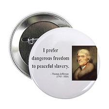 """Thomas Jefferson 15 2.25"""" Button"""