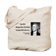 Thomas Jefferson 15 Tote Bag