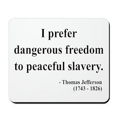 Thomas Jefferson 15 Mousepad