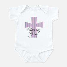 Amazing Grace Cross Infant Bodysuit