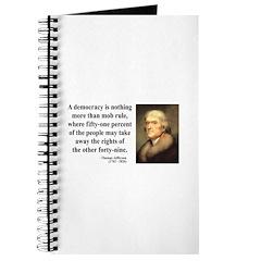Thomas Jefferson 16 Journal