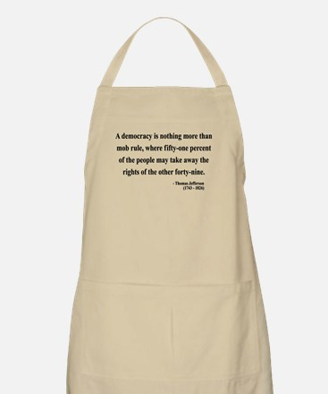 Thomas Jefferson 16 BBQ Apron