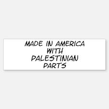Palestinian Parts Bumper Bumper Bumper Sticker