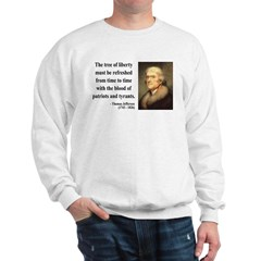 Thomas Jefferson 18 Sweatshirt