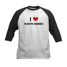 I Love Fleuve Horses Tee