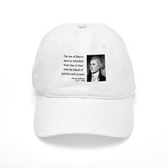Thomas Jefferson 18 Baseball Cap