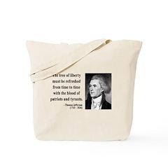 Thomas Jefferson 18 Tote Bag