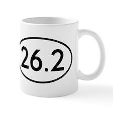 26.2 Marathon Runner Oval Mug