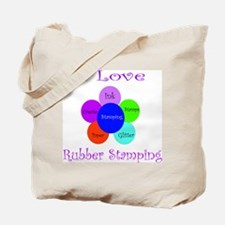 Rubber Stamping Tote Bag