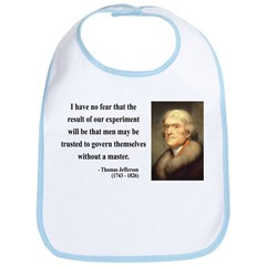 Thomas Jefferson 19 Bib
