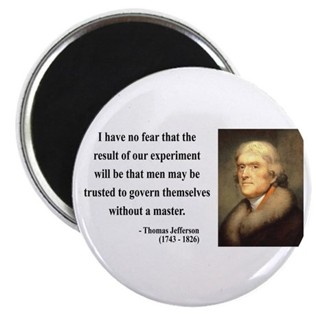 "Thomas Jefferson 19 2.25"" Magnet (10 pack)"