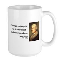 Thomas Jefferson 20 Large Mug