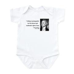 Thomas Jefferson 20 Infant Bodysuit